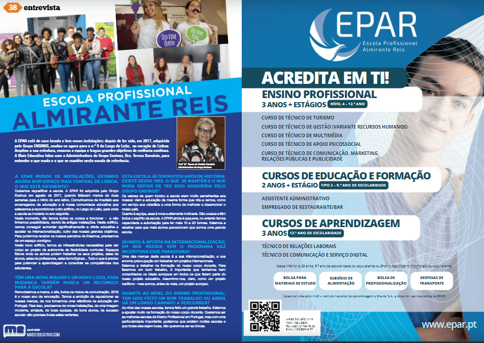 EPAR na Mais Educativa
