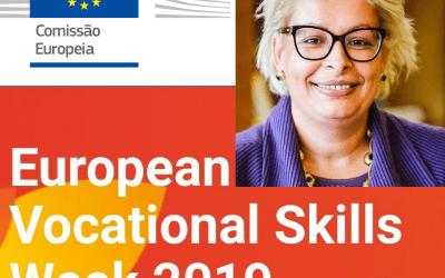 COMISSÃO EUROPEIA NOMEIA Teresa Do Rosário Damásio COMO EMBAIXADORA DA SEMANA EUROPEIA DA FORMAÇÃO PROFISSIONAL 2019