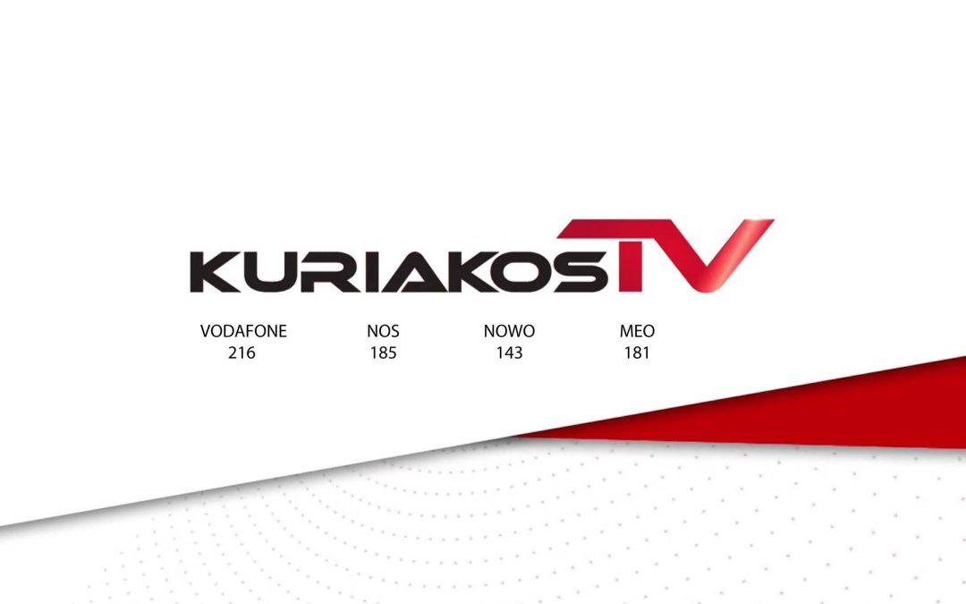 Entrevista no canal Kuriakos TV