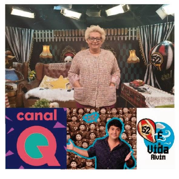 Teresa Do Rosário Damásio, hoje às 24 horas no Programa É a vida Alvim, no CANAL Q!