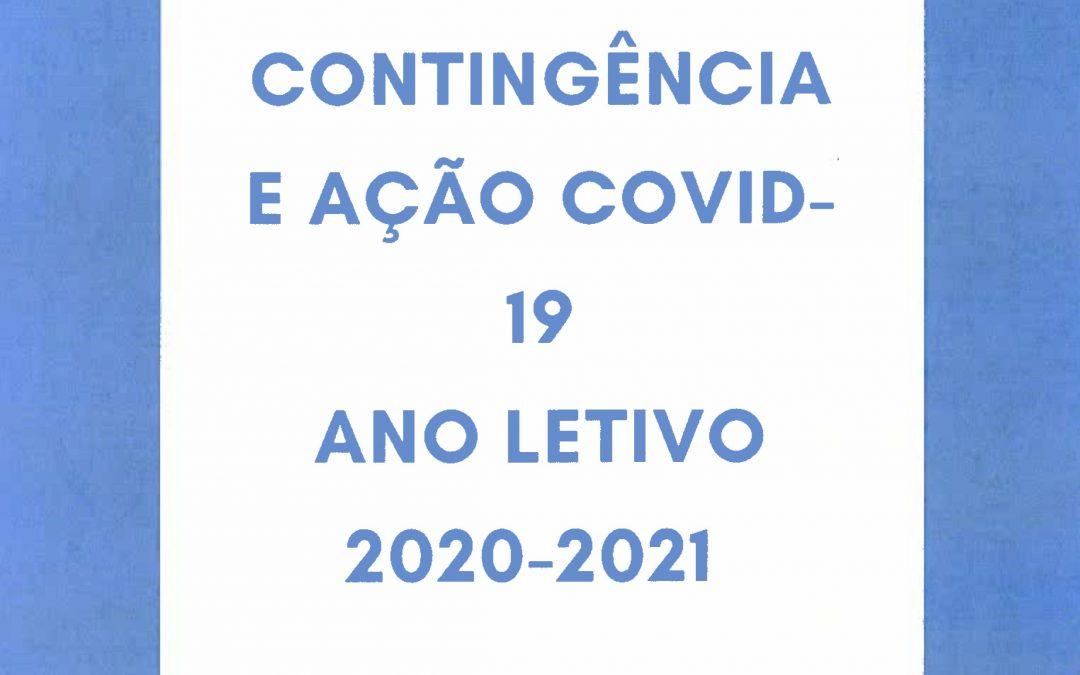 Plano de Contingência e Ação Covid-19 ano letivo 2020-2021