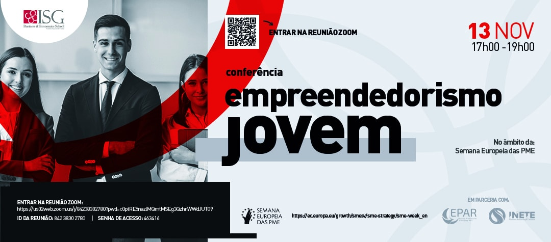Conferência: Empreendedorismo Jovem